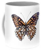 9 Mexican Silver Spot Butterfly Coffee Mug