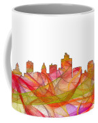 Salt Lake City Utah Skyline Coffee Mug