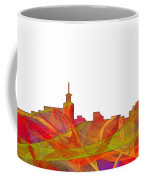 Santa Fe New Mexico Skyline Coffee Mug