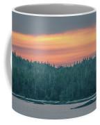 Sunset Over Alaska Fjords On A Cruise Trip Near Ketchikan Coffee Mug