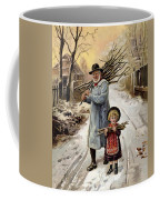 Vintage Christmas Card Coffee Mug