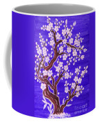 White Tree In Blossom, Painting Coffee Mug