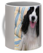 #940 D1037 Farmer Browns Springer Spaniel Happy Coffee Mug