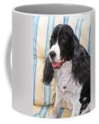 #940 D1042  Farmer Browns Springer Spaniel Coffee Mug