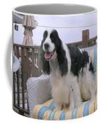 #940 D1056 Farmer Browns Springer Spaniel Coffee Mug