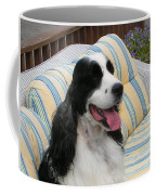 #940 D1066 Farmer Browns Springer Spaniel Happy Coffee Mug