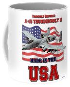A-10 Thunderbolt Made In The Usa Coffee Mug