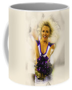 A Baltimore Ravens Cheerleader  Coffee Mug