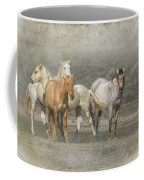 A Band Of Horses Coffee Mug