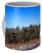 A Barn In The Snow In Maine Coffee Mug