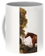 A Bay Arab In A Coastal Landscape Coffee Mug