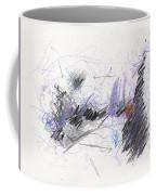 A Beast Of A Night Coffee Mug by Rick Baldwin