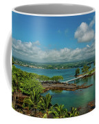 A Beautiful Day Over Hilo Bay Coffee Mug