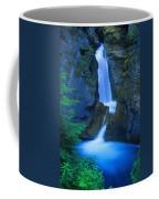 A Beautiful Waterfall, Johnston Canyon Coffee Mug