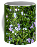 A Bed Of Blooms Coffee Mug