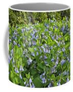 A Bed Of Bluebells Coffee Mug