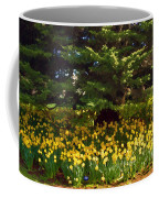 A Bed Of Narcissus Coffee Mug