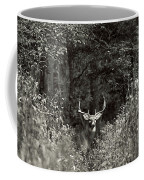 A Big Buck In Rut Coffee Mug