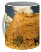 A Big Mountainous Rock On The Gemini Trail Moab Utah  Coffee Mug