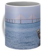 A Bird And A Bridge Coffee Mug