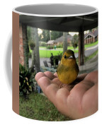 A Bird In The Hand Coffee Mug