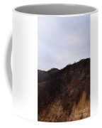 A Bleak Burned Slope In The Foothills Of The Southwest Sierra Nevadas Coffee Mug