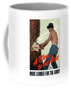A Blow To The Axis - Ww2 Coffee Mug