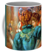 A Box In The Theater Des Varietes 1898 Coffee Mug