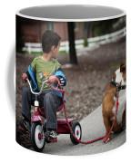 A Boy And His Bulldog Coffee Mug