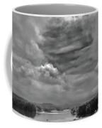 A Break In The Storm Bw Coffee Mug