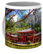 Buddhist Temple - Oahu, Hawaii - Coffee Mug