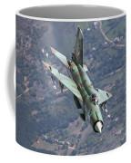 A Bulgarian Air Force Mig-21bis Armed Coffee Mug
