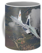 A Bulgarian Air Force Mig-29 In Flight Coffee Mug