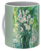 A Bunch Of Orchid Paintings Coffee Mug