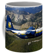 A C-130 Hercules Fat Albert Plane Flies Coffee Mug