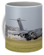 A C-17 Globemaster Strategic Transport Coffee Mug