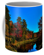 A Calm Fall Day On The Upper Moose Coffee Mug
