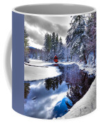 A Calm Winter Scene Coffee Mug