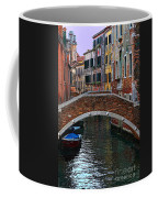 A Canal In Venice Coffee Mug