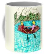 A Canoe Ride Coffee Mug