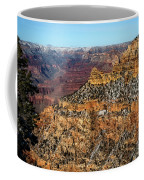 A Canyon Winter Coffee Mug