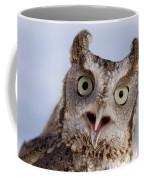 A Captive, Endangered Eastern Screech Coffee Mug