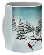 A Cardinals Perch Coffee Mug