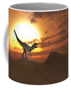 A Carnivorous Allosaurus Calling Coffee Mug