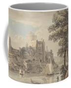 A Castle On A River Coffee Mug