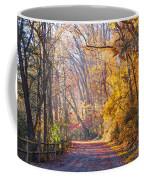 A Change Of Seasons On Forbidden Drive Coffee Mug