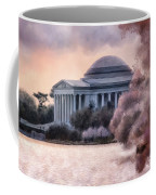 A Cherry Blossom Dawn Coffee Mug