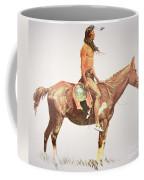 A Cheyenne Brave Coffee Mug by Frederic Remington