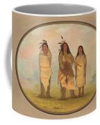 A Cheyenne Chief His Wife And A Medicine Man Coffee Mug