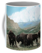 A Child Leads The Herd Coffee Mug